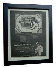 STEELEYE SPAN+Now Six+TOUR+RARE ORIGINAL 1974 POSTER AD+FRAMED+FAST+GLOBAL SHIP