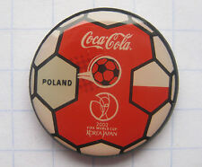 COCA-COLA / POLEN / FIFA WORLD CUP 2002 JAPAN-KOREA  Pin (103d)