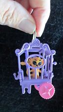 Rare Vintage Liddle Kiddle Zoolery Little Lion In Circus Wagon Cage Mattel Tiny