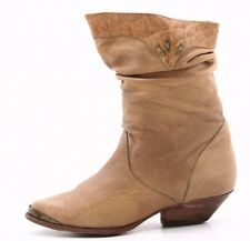 Wild Pair Womens Cowboy Boots Size 6.5 Vintage Western Leather Boho Hipster