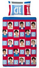 One Direction Lenzuola Double Face Craze 135x200 Bucato Rifiniture Assortimento