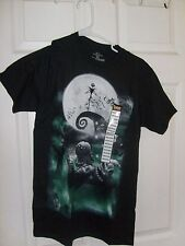 NIGHTMARE BEFORE CHRISTMAS JACK OOGIE LOCK SHOCK MEDIUM SHORT SLEEVE T SHIRT