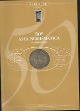 GHIGLIONE 50 2012 numismatica monete ORO GOLD listino asta catalogo ILLUSTRATO