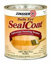 Rust-Oleum Zinsser 854 1-Quart Bulls Eye Sealcoat Universal Sanding Sealer, New,