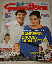 GRAND HOTEL 2012/5=GIANNI MORANDI=TAMARA ECCLESTONE=MORGAN=ALEX BELLI=RIVERA G.=