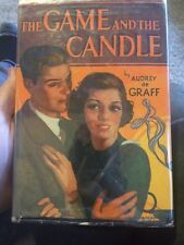 The Game And The Candle By Audrey De Graff First Edition 1936 Very Rare Scarce