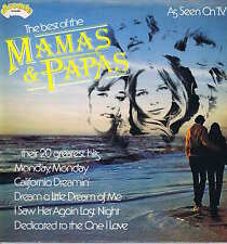 The Mamas & The Papas – The Best Of – Arcade ADE P30 – LP Vinyl Record