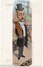 Illustrateur MOLOCH. Pierre WALDECK-ROUSSEAU. Politique Française . Lapin Rabbit