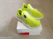 Nike Sock Dart SP Volt Yellow Trainers Sneakers Size UK 7, US 8 NEW **LOOK**