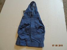 Companion Road The ebony vest with hood for dogs, Blue, Small