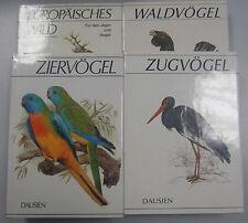Waldvögel Zugvögel Ziervögel Europäisches Wild ==4 Fachbücher