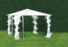 20 White LED Outdoor Fairy String Garden Party Christmas Xmas Lights 3.5m
