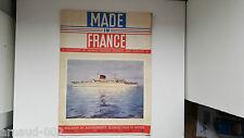 """Made in France """"Magazine du rayonnement Français dans le monde"""" N°4 1956 RARE"""