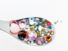 Nail Art Crystal Mixed Sizes & Colors Swarovski Rhinestones 144 pieces #S801
