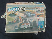 VINTAGE SCALEXTRIC BOXED SET WITH SIGNED SIGNATURES