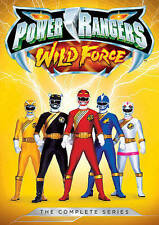 POWER RANGERS WILD FORCE COMPLETE SERIES on DVD *NEW*