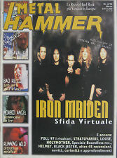 METAL HAMMER 3 1998 Iron Maiden Helmet Max Cavalera Bad Religion Morbid Angel
