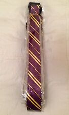 HARRY POTTER GRIFFINDOR HOGWARTS STYLE TIE FANCY DRESS  HP DAY SCHOOL NECKTIE