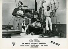 GILBERT ROLAND RICHARD EGAN UNDERWATER ! 1955 VINTAGE PHOTO ORIGINAL FRENCH #7