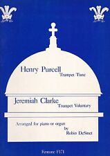 Henry Purcell : Trumpet Tune ; Jeremiah Clarke : Trumpet Voluntary, f. Trompete