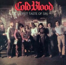 First Taste of Sin by Cold Blood (CD, Mar-2006, Collectables)