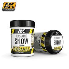 AK8011 AK Interactive Gelände 250ml - Schnee
