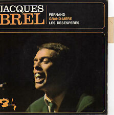 JACQUES BREL FERNAND FRENCH ORIG EP FRANCOIS RAUBER