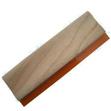 "13"" / 33cm Screen Printing Squeegee Manual Ink Scraper Wooden Handle Low Cost"