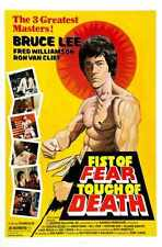 Fist Of Fear Touch Of Death Poster 01 A4 10x8 Photo Print