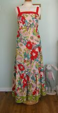 NEW SIMPLY BE LONG FLORAL MAXI DRESS SZ 14 VICTORIAN/PRAIRIE/GYPSY/BOHO/16/FOLK