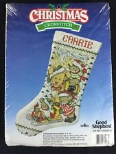 Christmas Reindeer Stocking Cross Stitch Kit DMC Good Shepherd Sealed