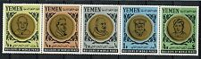 Yemen 1966 SG#R136-R140 Builders Of World Peace MNH Strip Set #A59118