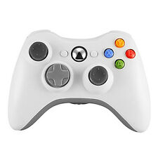 White Wireless Game Remote Controller for Microsoft Xbox 360 Console  US Ship
