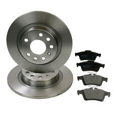 Pagid Rear Brake Kit (278mm Solid/ATE System) Discs & Pads - Vauxhall Vectra C