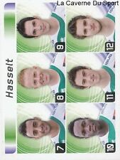 554 EQUIPE BELGIQUE 3DE KLASSE B STICKER FOOTBALL 2012 PANINI
