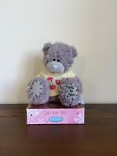 "Me To You Tatty Teddy Grey Bear 6"" 'Mum' Yellow Shirt Mothers Day Gift"