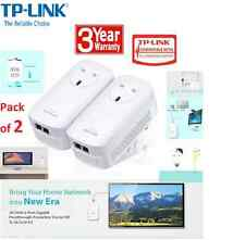 TP-LINK TL-PA7020P KIT AV1000 2 Port Gigabit Passthrough Powerline Adapter KIT