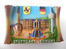 Magnet Stuttgart Schlossplatz,Poly 3 D Relief Souvenir Germany Deuschland,NEU
