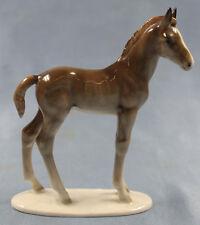 Pferdefigur pferd  Porzellan figur Hutschenreuther porzellanfigur fohlen 1970 br