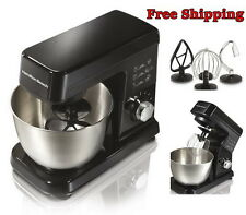 Stand Mixer Machine Maker Bakery Beater Dough Bowl Baking Cooking Cake Kitchen