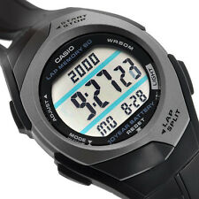 Casio STR-300C-1 Ladies PaceMaker Watch 60 Data Sets 2 Time Zones Lap Memory New
