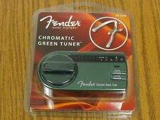 NEW Fender GT-1000 Green Chromatic TUNER Electric Guitar Bass No Power Required!