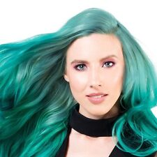 Sparks Long Bright Hair Color Dye Ash Coloring Permanent Green - Totally Teal