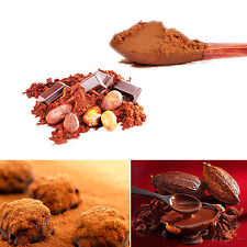 50g lot Food Grade Pure Organic Cocoa Powder Chocolate Bean Extract Cacao N