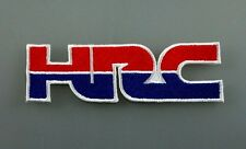 HRC HONDA RACING TEAM Embroidered Patch Iron Sew Logo Hardcore Emblem motor bike