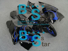 Black Fairings + Tank Cover kit Kawasaki Ninja ZX12R 2003 2004 2002-2005 11 A7