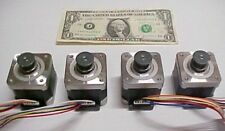 Lot of 4 Step Motors, DIY CNC Milling, Automation, Robot 42mm Square 2 Phase NEW