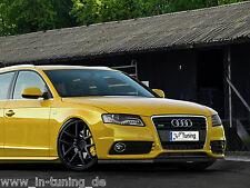 Spoilerschwert Frontspoilerlippe Cuplippe aus ABS für Audi A4 B8 S-Line mit ABE