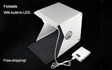 Mini Photo Studio Box  Portable Foldable Photography with built-in Light