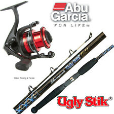 UGLY STIK GOLD Rod 6' 4-8kg Spin Combo with Abu Garcia Black Max 40 Fishing Reel